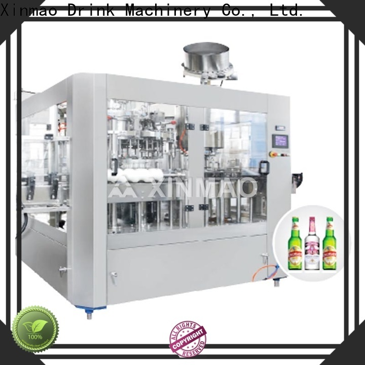 Xinmao automatic beer filling machine manufacturers for factory