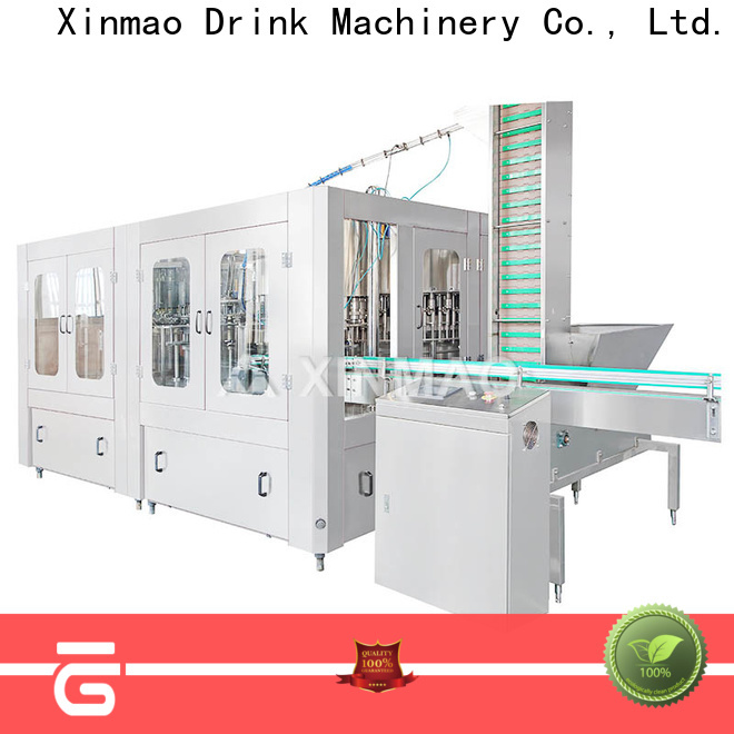 Xinmao drink carbonated drink filling machine factory for soda