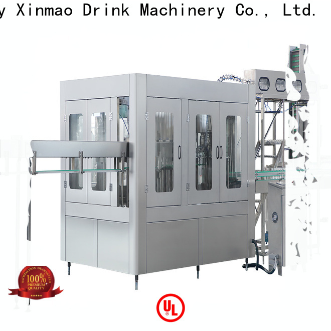 Xinmao high-quality drinking water bottle filling machine manufacturers for pet bottle