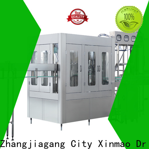 Xinmao machine plastic glass water filling machine for sale for factory
