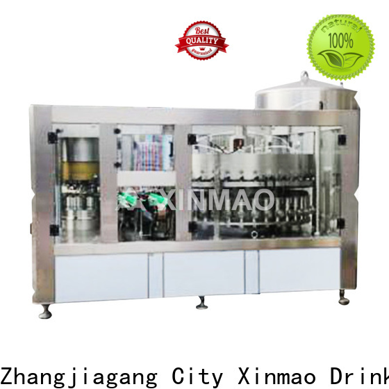 Xinmao production beer bottle filling equipment suppliers for beer can
