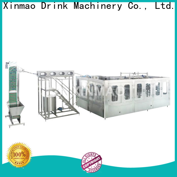 Xinmao New water packaging machine company for pet bottle