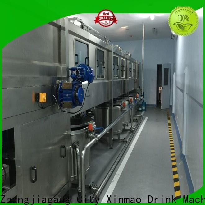 Xinmao threeinone water bottling machine prices supply for water jar