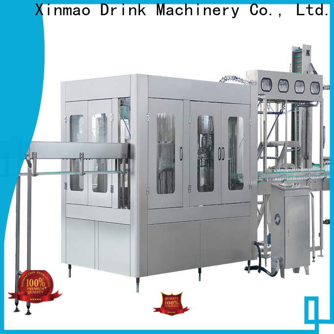 Xinmao bottled filling machine parts factory for water bottle