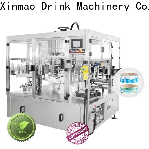 Xinmao top automatic label applicator machine company for bottle