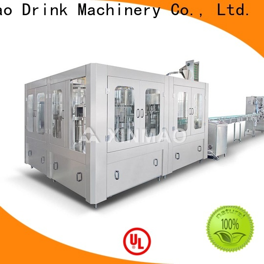 Xinmao bottle small scale water bottling equipment company for mineral water