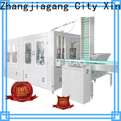 Xinmao filling soft drinks machines factory for soda