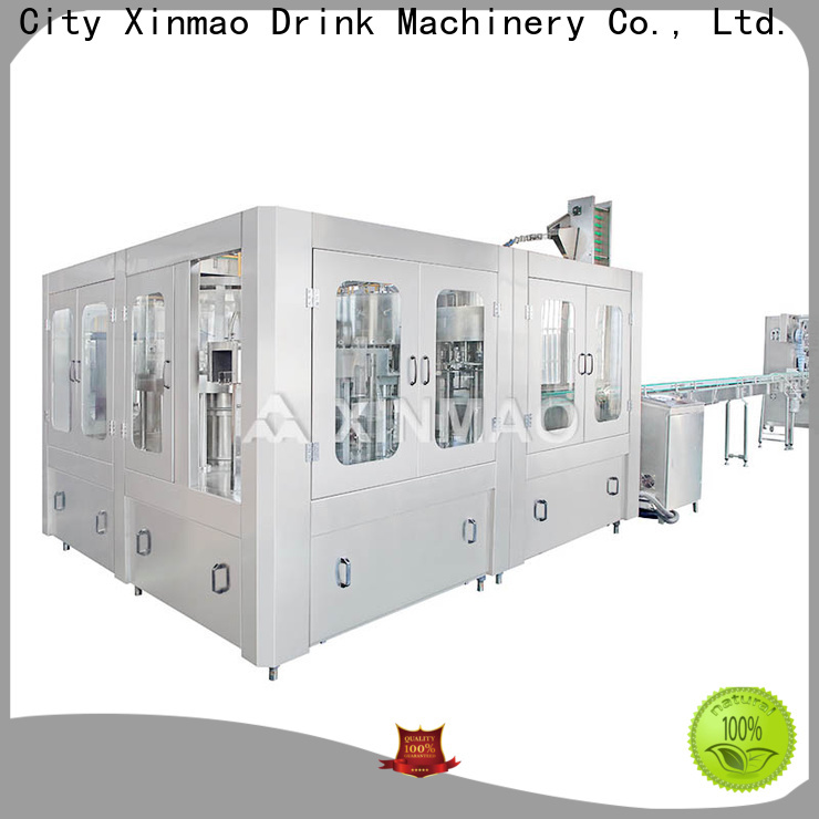 Xinmao automatic e juice filling machine factory for juice