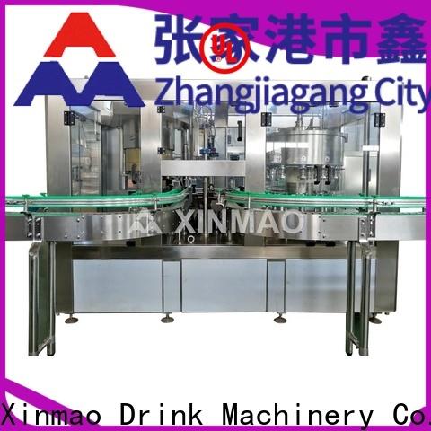 Xinmao custom bottling juice equipment factory for juice
