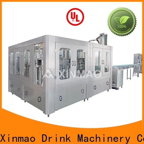 Xinmao small tank fillers suppliers for mineral water