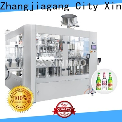 Xinmao canned beer bottling systems supply for beer