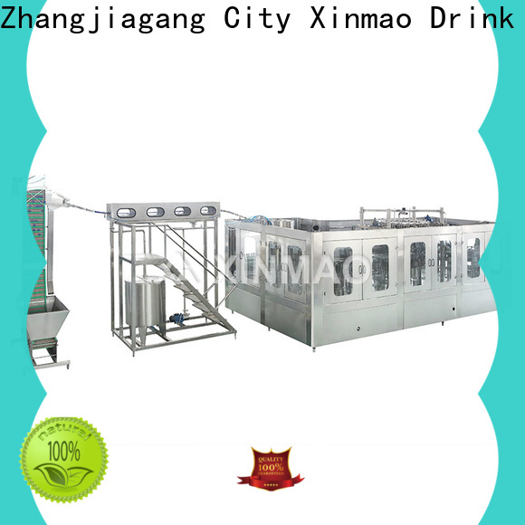 Xinmao wholesale soda bottling equipment company for carbonated drink