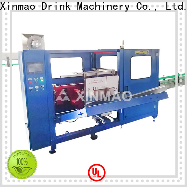 Xinmao product automatic case packing factory for carton box