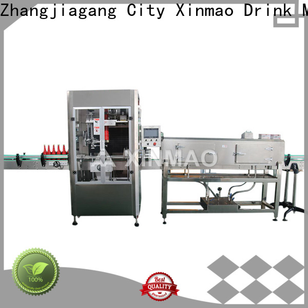 Xinmao product semi automatic labeler company for bottle