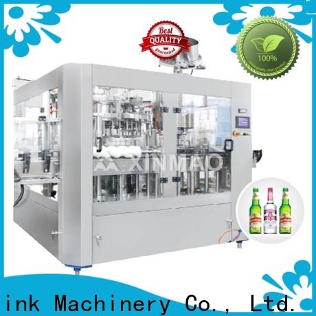 Xinmao line beer bottle machine factory for beer bottle