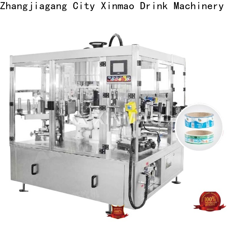 Xinmao custom label machines for sale supply for water bottle