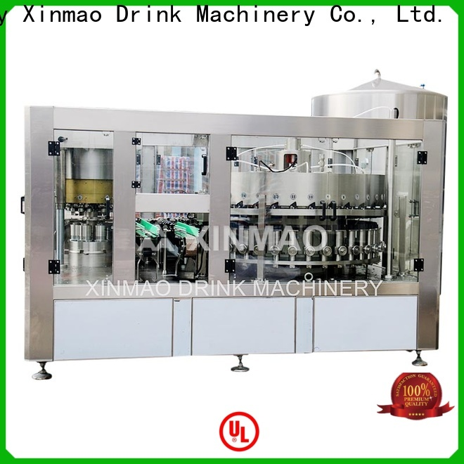 Xinmao New small carbonated drink filling machine manufacturers for soft drink