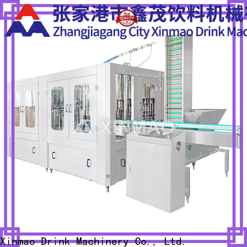 Xinmao glass soda bottling plant manufacturers for soda