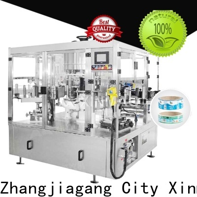 Xinmao machine semi automatic label applicator machine manufacturers for factory