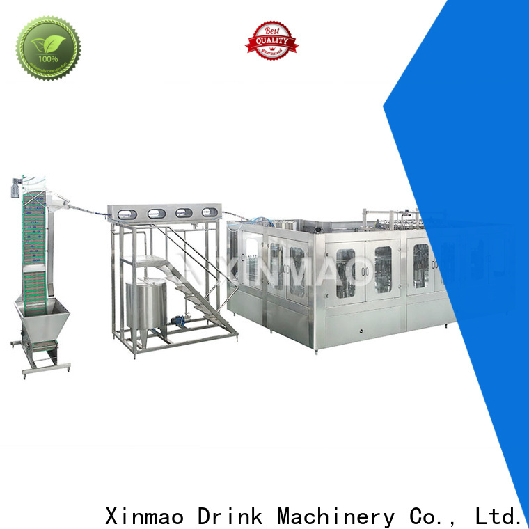 Xinmao best carbonated filling machine company for carbonated drink